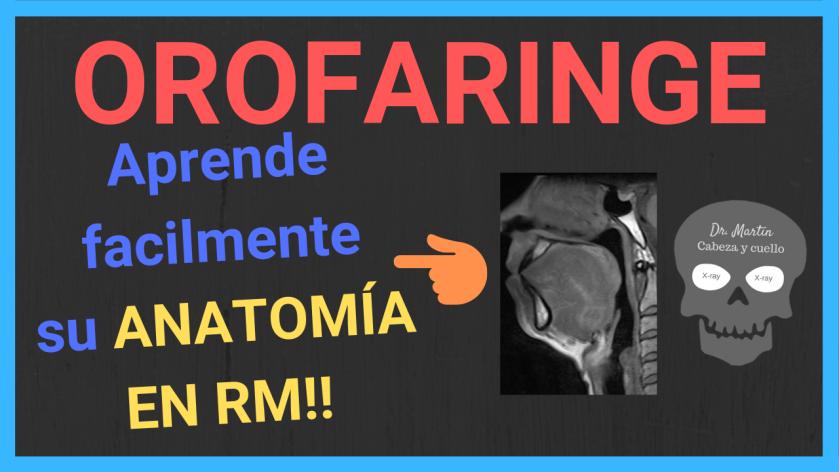 Resonancia magnética cuello-orofaringe